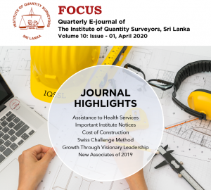 IQSSL Focus Journal (April 2020)
