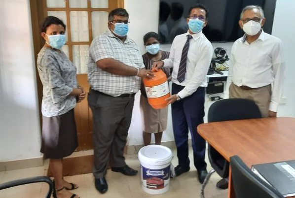 IQSSL Officially Hands Over its Donation to IDH – IQSSL's Assistance to SL Health Services – UPDATE